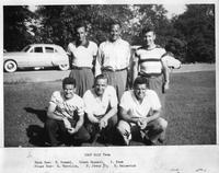 Portrait 1948 Golf Team.