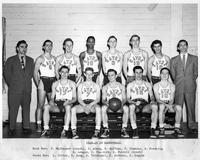 1948-1949 Portrait Basketball Team.