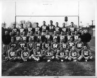 Portrait of the 1953 football team.