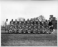 Portrait of the 1955 Frosh/Freshman football team.