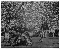 Against Michigan State College about 1937.