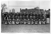 Portrait of the 1958 football team.