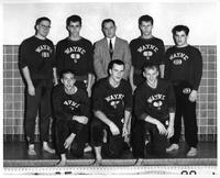 The 1958-1959 Swim Team portrait.