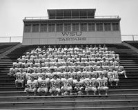 1991 football team portrait.