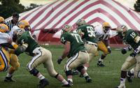 1991 football action shot versus Ashland.