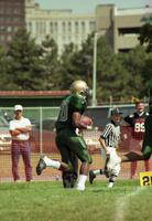 1999 football action shot versus Findlay.