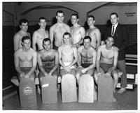 Portrait of the 1960 Swimming team.