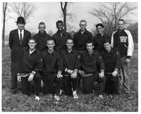 Portrait of the 1960 Cross Country Team.