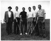 Portrait 1961 golf team.