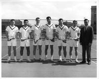 Portrait 1961 tennis Team.