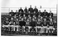 A portrait of the 1962 football squad.