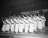 The PanHellenic Singers perform a number.