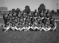 1987 baseball team portrait.