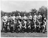 Team portrait 1951 baseball.
