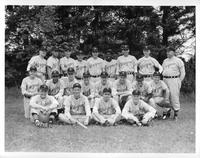 Team portrait 1957 baseball.