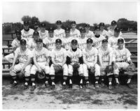 Team portrait 1960 baseball.