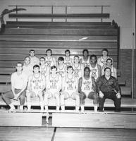 Group portrait of the 1970 basketball team.