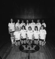 1973 composite women's basketball team portraits.