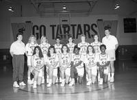 1992 women's basketball team portrait.