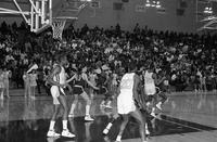 1986-1987 basketball action shot.
