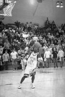 1999 basketball action shot versus Ashland.