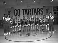 1996 women's basketball team portrait.