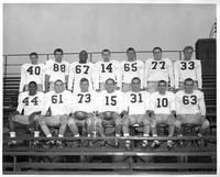 1964 football team portrait.
