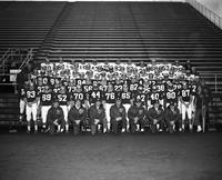 1970 football team portrait.