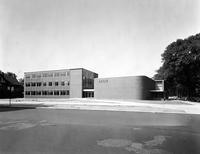 Wayne State University; Buildings; Community Arts; Music Wing 1953, 1955
