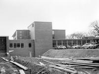 Wayne State University; Buildings; Libraries; General and Kresge, Construction 1950-52
