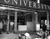 Wayne State University; Buildings; Libraries; General; Cornerstone Laying