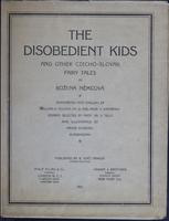 The  disobedient kids: and other Czecho-Slovak fairy tales