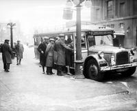 street railways; buses. new ones for Detroit.