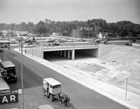 Streets; Lodge Expressway. Construction.