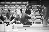 Table Tennis; China - United States; In Detroit. -Arrival at Metro Airport