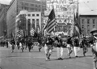 Parades; Spanish War Veterans