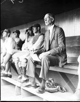 Mack, Connie; Baseball. Manager Philadelphia Baseball.