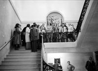National Organization of Women (NOW). -Demonstration at the Detroit Athletic Club after MaryAnn Mahaffey (Detroit Councilwoman) was not allowed to enter the club through the front door even though she was scheduled to attend a meeting there