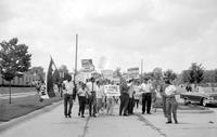 Negroes; Michigan; Oak Park. - Freedom March