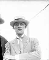 Kirby, Frank E. ; Detroit Ship Designer. With Mr. White, President Hudson River Navigation Company. Date 1909