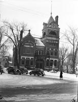 Michigan; Cities; ; Adrian. First M. E. Church at Adrian
