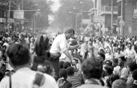 Kennedy, Robert F. ; US Senator. Tours Riot Area on 12th Street