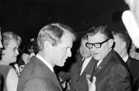 Kennedy, Robert F. ; US Senator. with Zolton Ferency