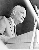 Eisenhower, Dwight D. ; President of United States; In Detroit