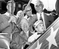 Truman, Harry S. ; President United States; In Michigan.