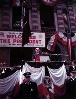 Truman, Harry F. ; President of United States; In Detroit