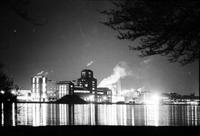 Skyline; Downtown Detroit. From Belle Isle; Night Views