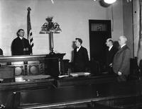 Simons, Charles C. ; Judge. With Wife. With Eugen Walling, James Wolfston & Edward Fitzgerald. With Stephen S. Nisbet.