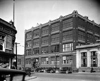 Boys' Club of Detroit; On Michigan Avenue. Exterior view of old building.
