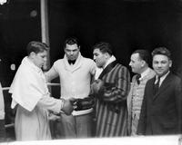 Boxing Matches; Tuffy Griffith - Harry Rocco; Fairgrounds